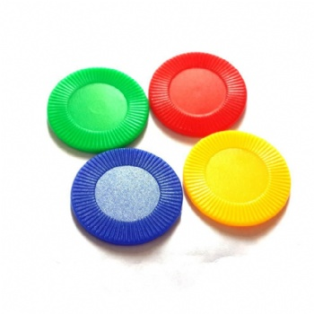 Sunflower plastic tokens