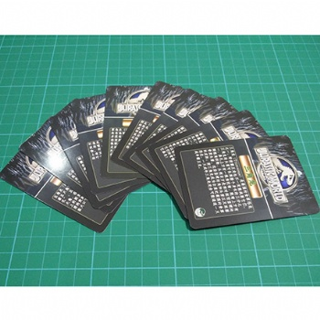 350gsm white core cards
