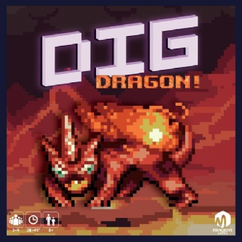 DIG: Dragon! Card Game